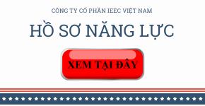 Hồ sơ năng lực công ty cổ phần IEEC Việt Nam