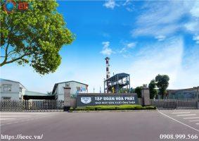 IEEC cung cấp hệ thống thang máng cáp cho tập đoàn Hòa Phát