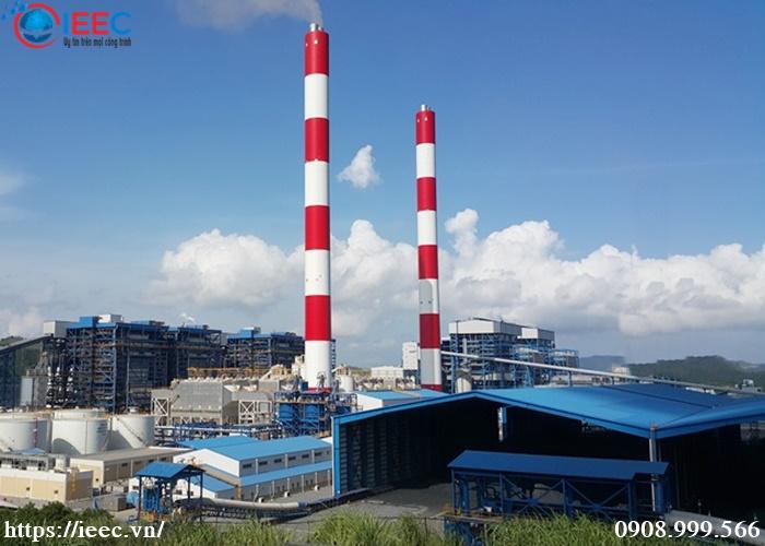 IEEC Việt Nam lắp cân băng tải nhà máy nhiệt điện quảng ninh