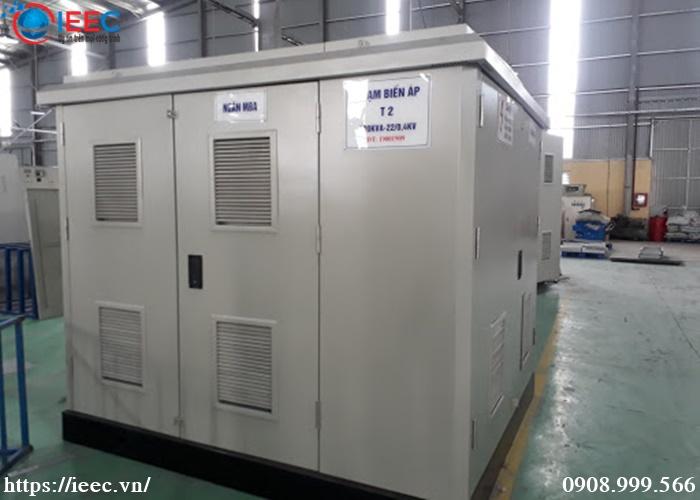 IEEC Việt Nam đơn vị chuyên sản xuất và lắp đặt trạm biến áp