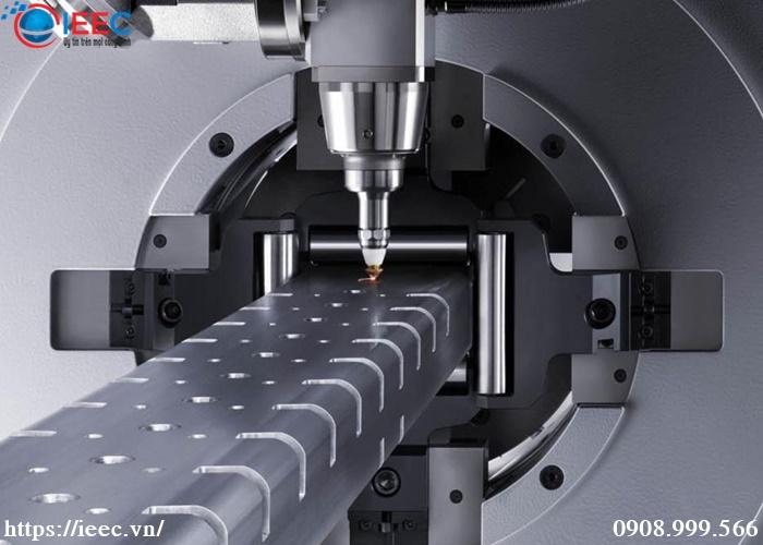 Cắt laser ống, hộp kim loại IEEC Việt Nam