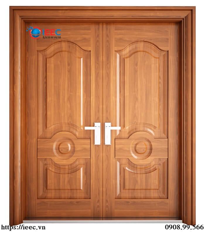 Cấu tạo của cửa thép vân gỗ