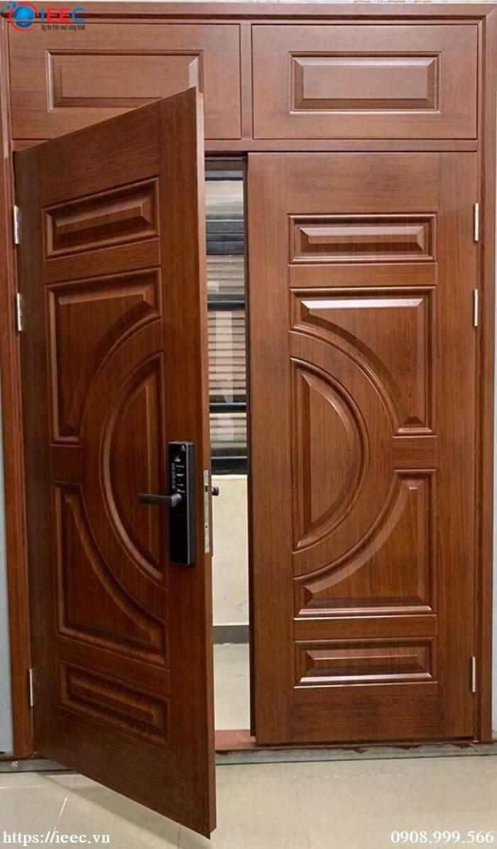 Những ưu và nhược điểm của cửa thép vân gỗ