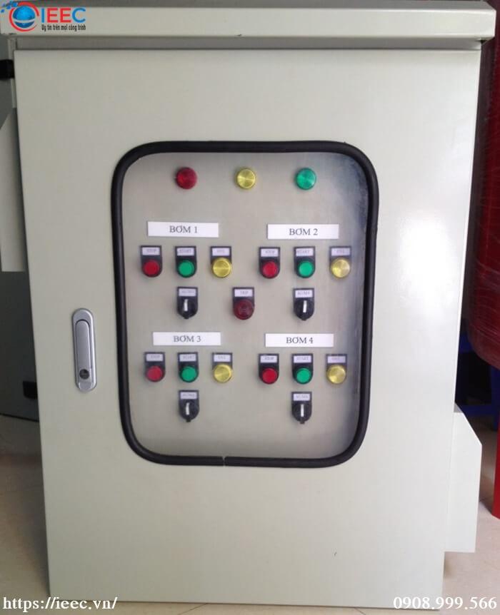 Tủ điện điều khiển máy bơm IEEC