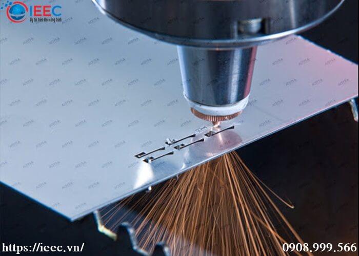 Cắt Laser nhôm IEEC Việt Nam