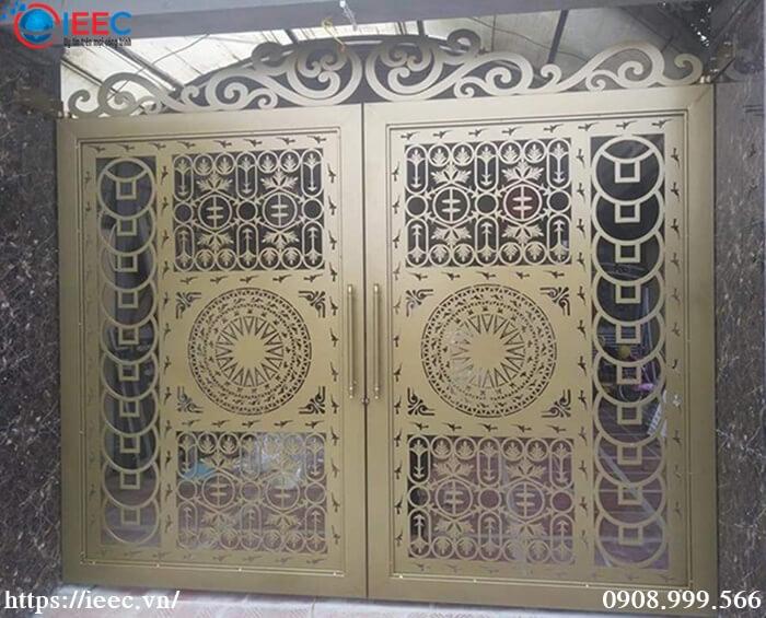 Mẫu cổng sắt gia công Laser CNC nghệ thuật