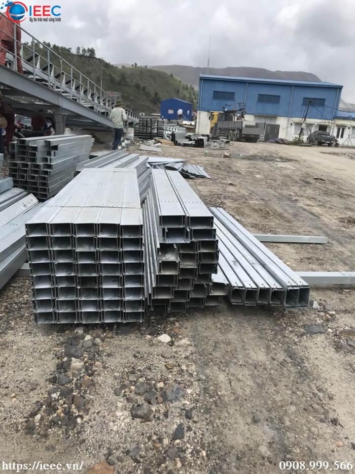 Cung cấp THANG MÁNG CÁP mạ kẽm cho nhà máy COLAVI Quảng Ninh