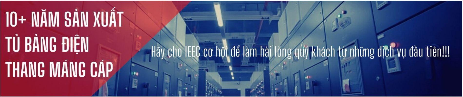 Banner tủ bảng điện, thang máng cáp IEEC Việt Nam