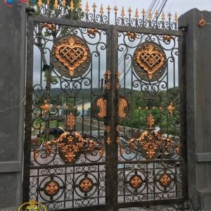 Lý do nên chọn cửa cổng sắt thép