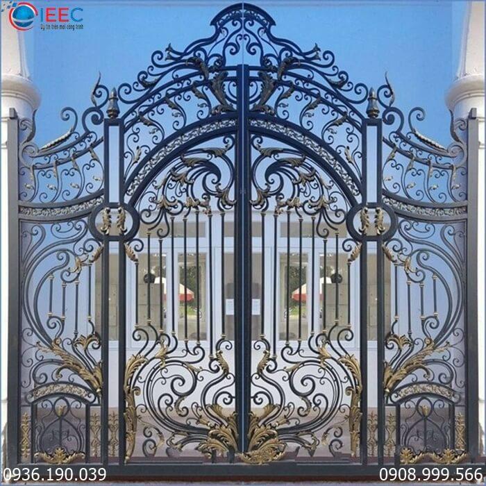 Cổng cửa sắt thép