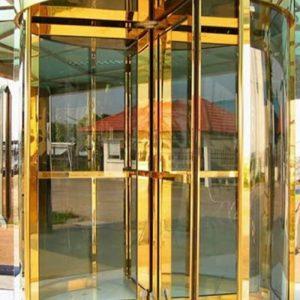 IEEC Việt Nam - Sản xuất cửa inox vàng tại Hà Nội