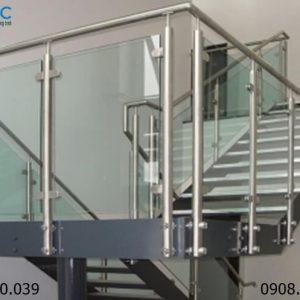 Gia công cầu thang Inox