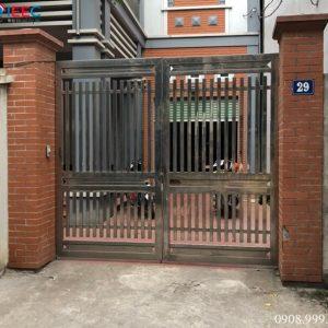 Gia công cổng cửa inox