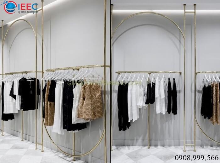 IEEC Việt Nam - Nhận gia công kệ inox shop thời trang