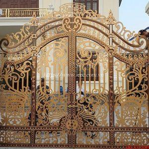 Mẫu Cổng Sắt Cnc Nghệ Thuật đẹp Nhất